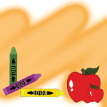 0802 - Crayons and Apples