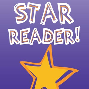 2743 - Bookmark Star Reader Sta
