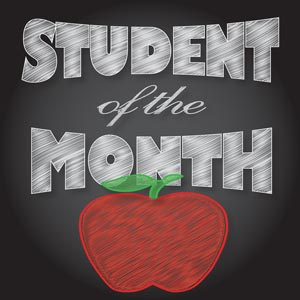 3600 - Student of the month