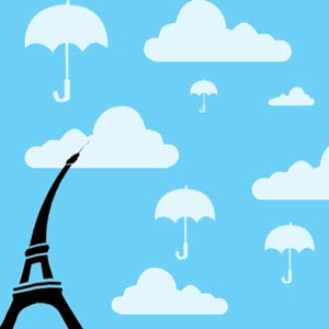 3902 - Paris Umbrella