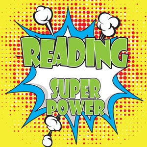 4183 - Reading is my Super Powe