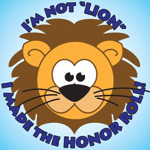 4212 - Not Lion Honor Roll