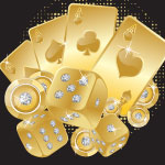 4321 - Metallic Gold Cards with