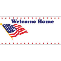 0096 - Welcome Home Flag