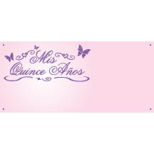1025 - Quince photo banner Pink