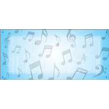 1472 - music notes background