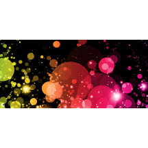 2102 - Colored Bubble Banner 2