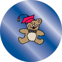 1077 - Teddy Bear design frame