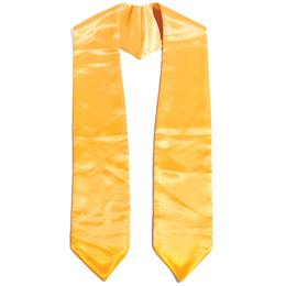 "Kids 52"" Graduation Stole - Gold"