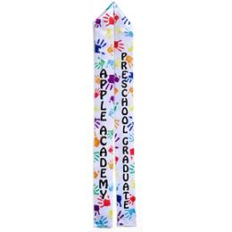Full-color Custom Graduation Sash-Handprints
