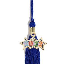 Graduation Tassel With 2021 Stars Charm