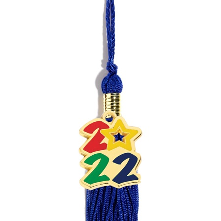 2017 Stacked Tassel Charm