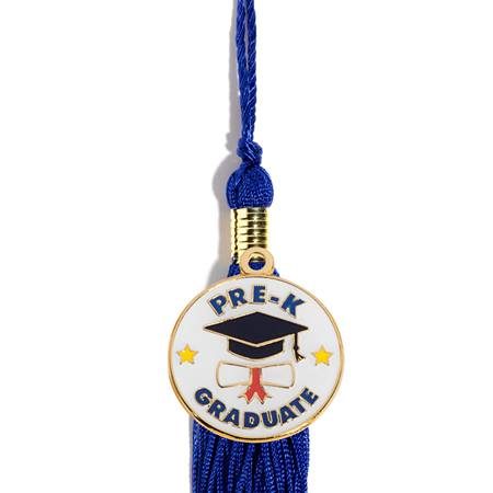 Graduation Tassel With Cap and Scroll Pre-K Graduate Charm