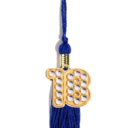 Graduation Tassel With Bling '18 Charm