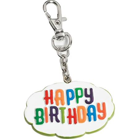 Flexible Charm Clip - Happy Birthday