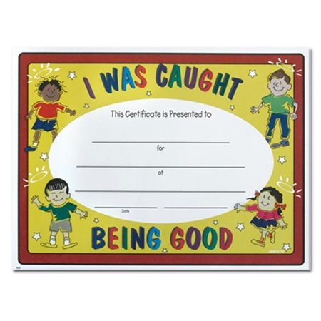 Super Certificate – Caught Being Good
