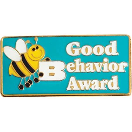 Good Behavior Award Pin – Bee