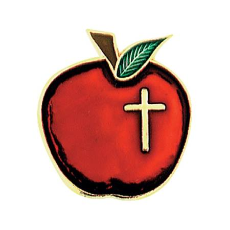 Apple w/Cross Pin