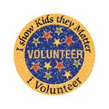 Volunteer Award Pin – I Show Kids They Matter Glitter