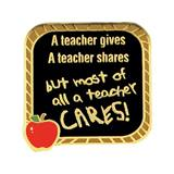 Teacher Award Pin – A Teacher Cares