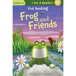 Early Reader Book - <i>Frog and Friends Best Summer Ever</i>