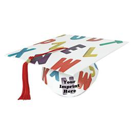 Full-color Custom Graduation Cap-ABCs