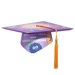 Full-color Custom Graduation Cap-Monster Mania
