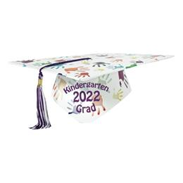 Full-color Custom Graduation Cap-Handprints