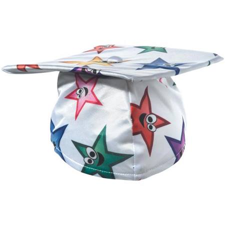 Graduation Cap with Stars