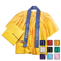 Shiny Preschool Graduation Set With Sash