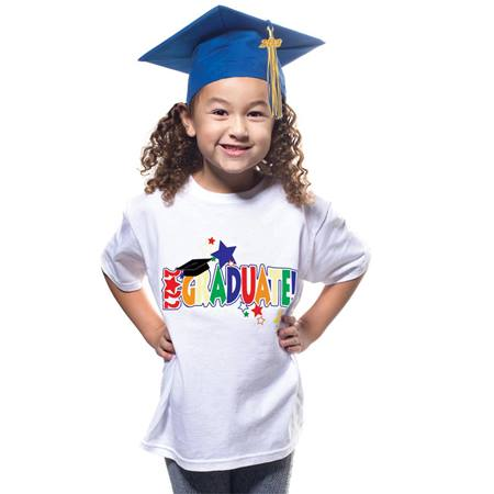 T-Shirt Grad Set with Matte Cap