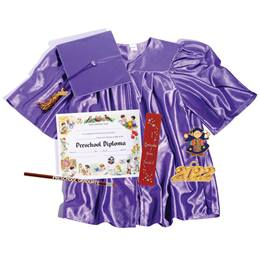 Preschool Super Grad Set - Shiny