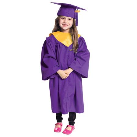 Deluxe Graduation Set With Hood - Matte Finish