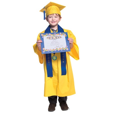 Matte Preschool Graduation Award Set