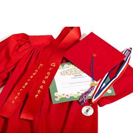 Matte Kindergarten Graduation Award Set