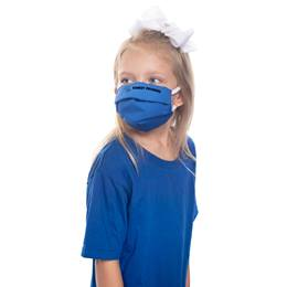 Custom Child Size Pleated Fabric Face Mask