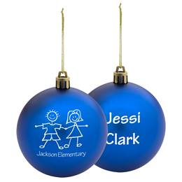 Personalized Shatter-resistant Ornament - Round