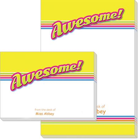Post-it® Notes Sticky Note Pads - Awesome