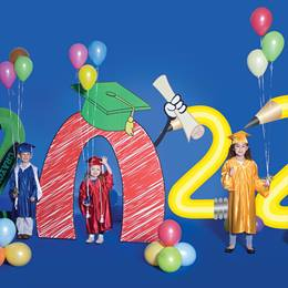 2020 Numbers and Balloons Kit