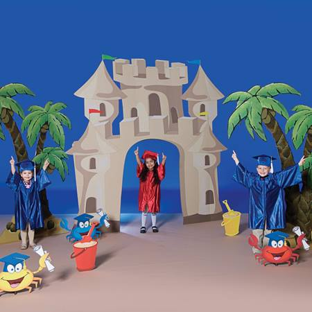 Sandcastle Beach Prop Set (without sign)