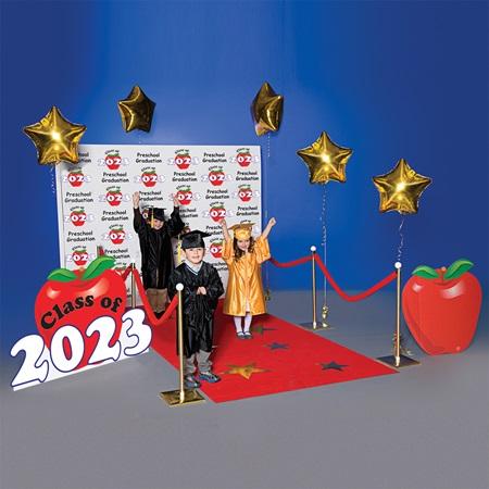 Preschool Apple Walk Of Fame Complete Prop Set Anderson S