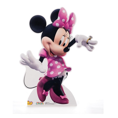 Dancing Minnie Mouse Life Size Stand-Up