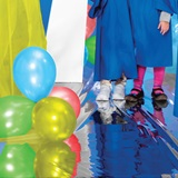 Super Star Pathway and Colored Balloons Prop Kit
