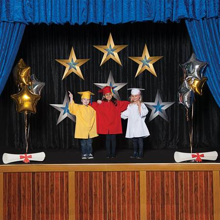 Stars, Balloons, and Diplomas Stage Prop Kit