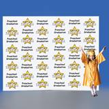 Preschool Stars Step and Repeat Wall
