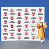 Preschool Apple Step and Repeat Wall