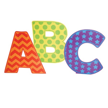 Patterned ABC Letters Kit