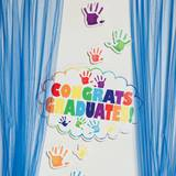 Graduation Photo Station Kit - Handprints