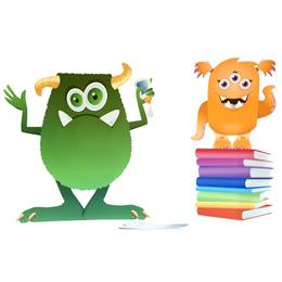 Learning Time Monsters Kit (set of 2)