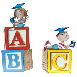 Now We Know Our ABCs Blocks Kit - set of 2